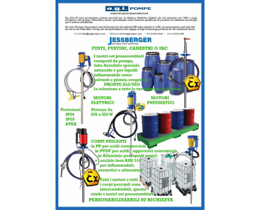 AGI POMPE - JESSBERGER - Ready-to-use pumping groups